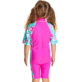 Zoggs Petal Magic All In One Swimsuit Girls pink